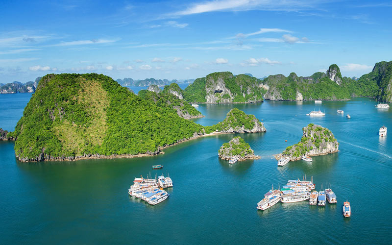 Halong Bay - UNESCO World Heritage Site